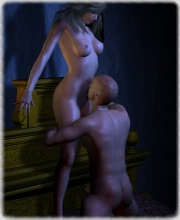 monster 3d porn