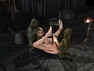 3d nude comics