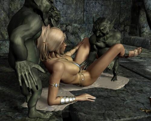 manga monster sex