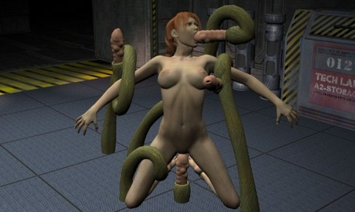 Tentacle 3d sex jungle